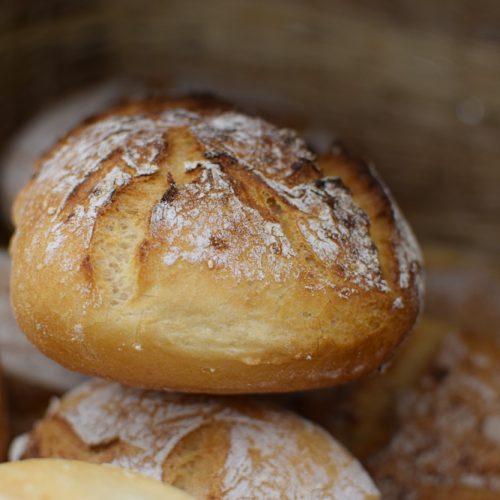 Crunchy gluten free bread at glufree bakery milan