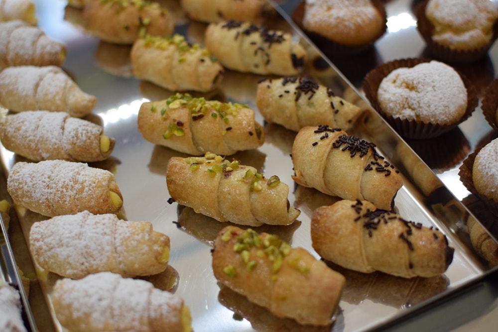 gluten free pastries at glu free in milan