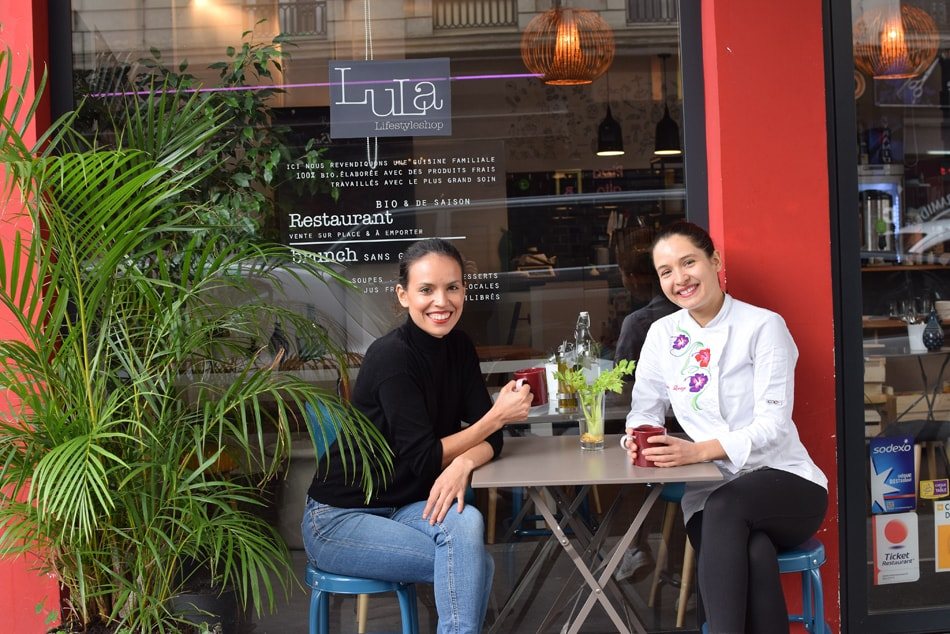 lula in paris with Luciana and Emilie