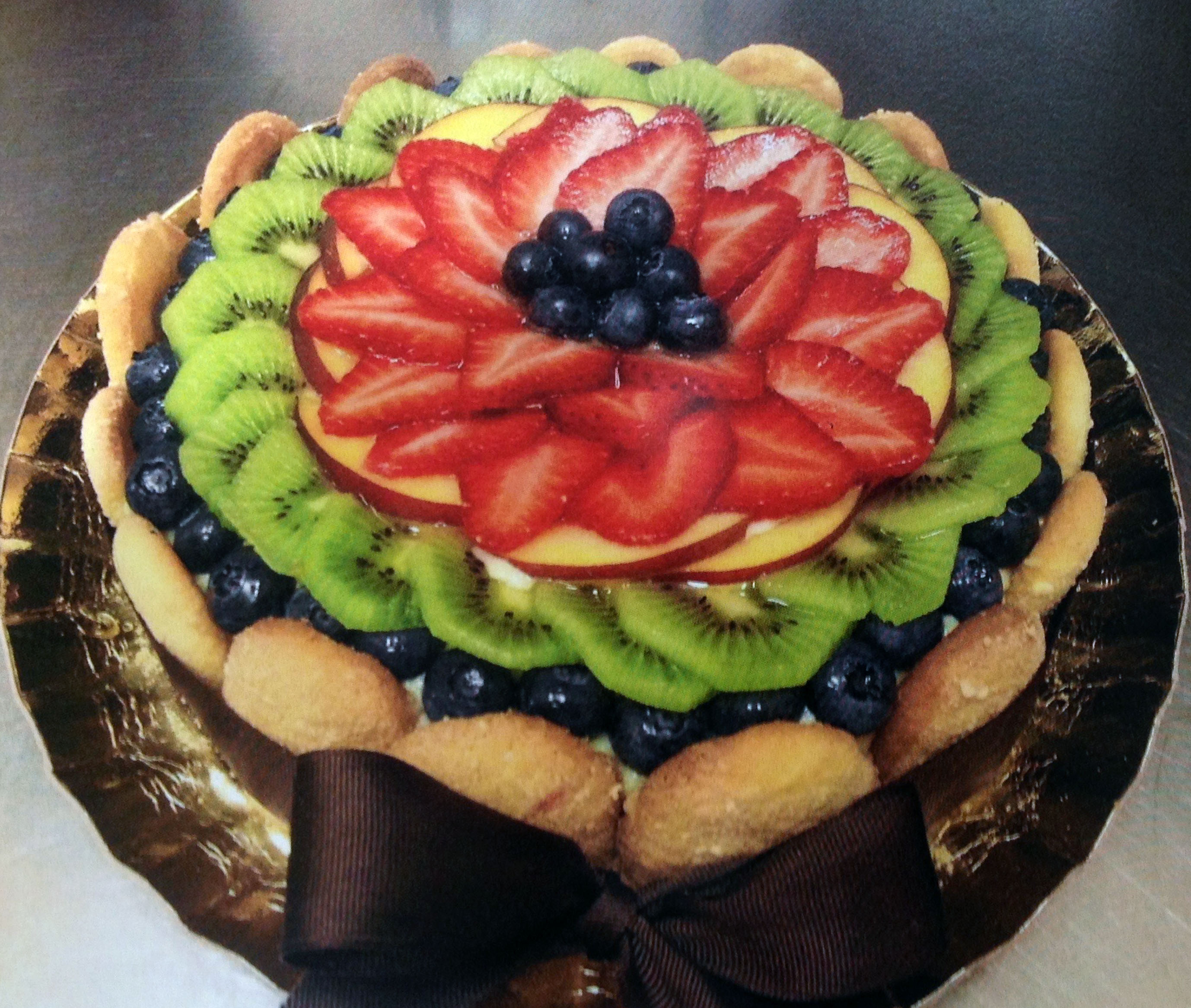 Delicious gluten free tart