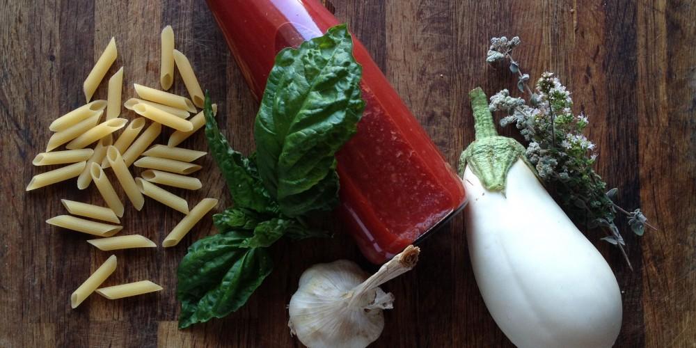 Gluten free pasta: ingredients