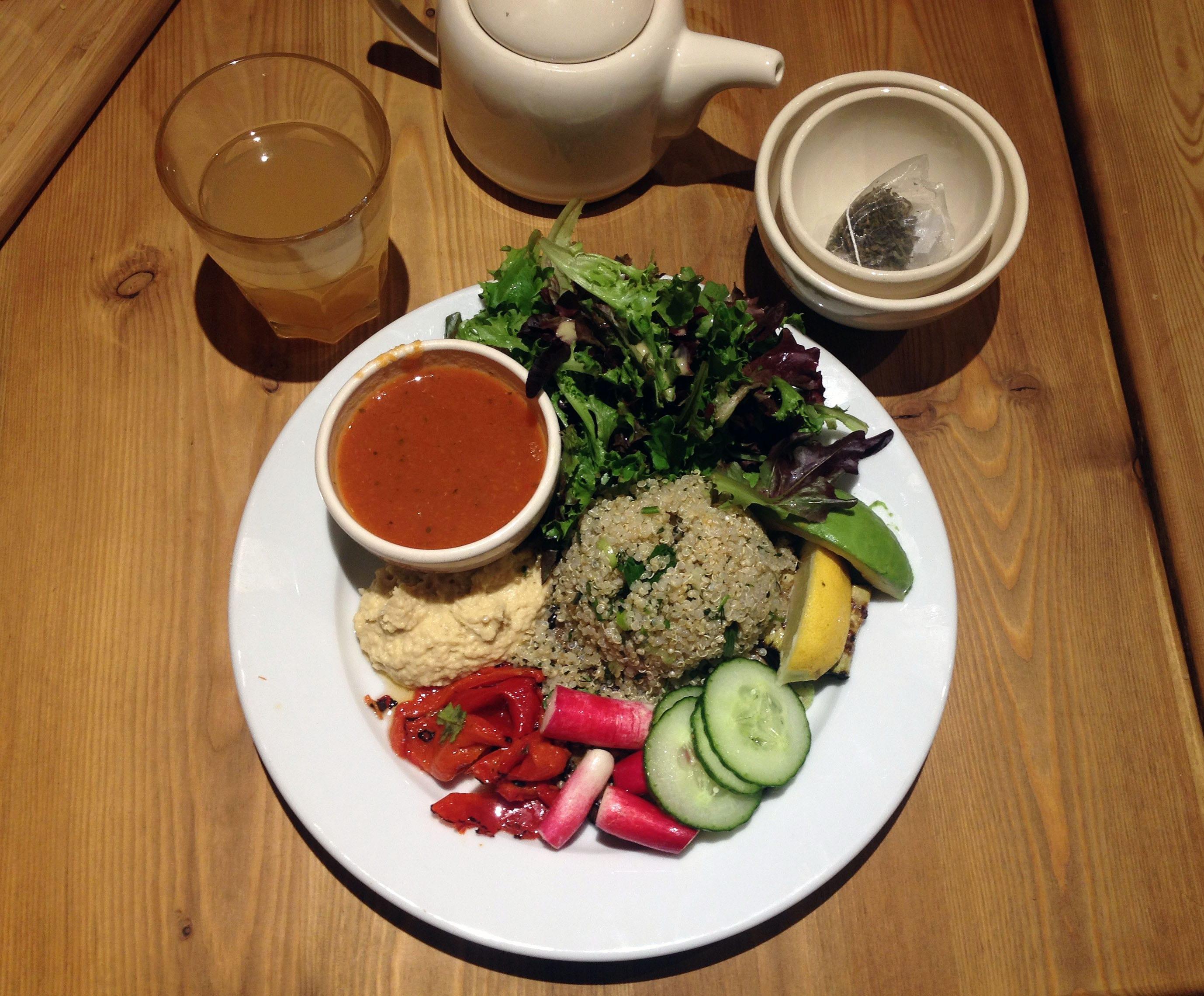 gluten free brunch: Le Pain Quotidien
