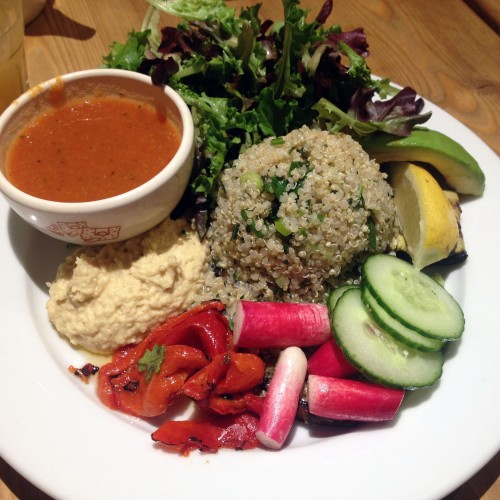 gluten free organic vegetarian brunch: Le Pain Quotidien