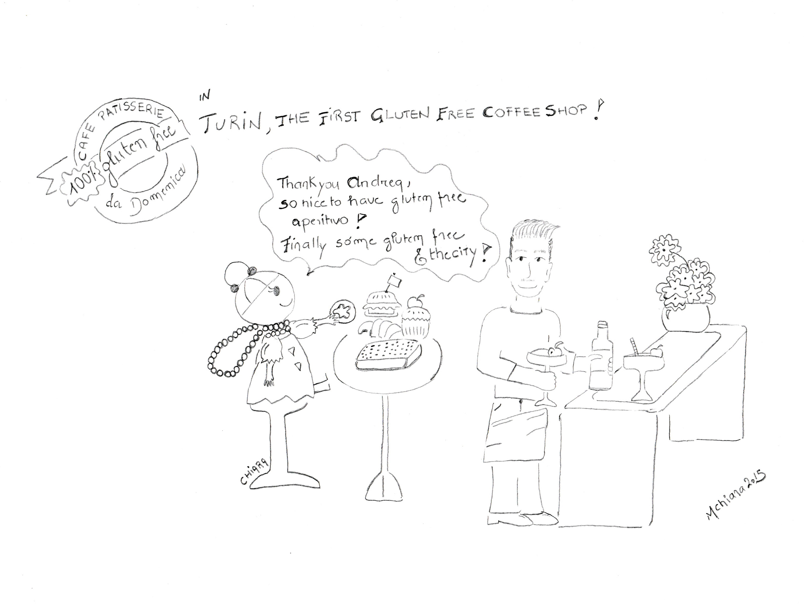 Cafe dessein Chiara 20015
