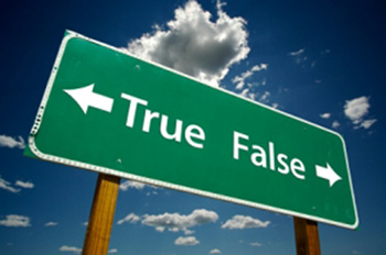 FALSE MYTHS, FALSE BELIEFS.