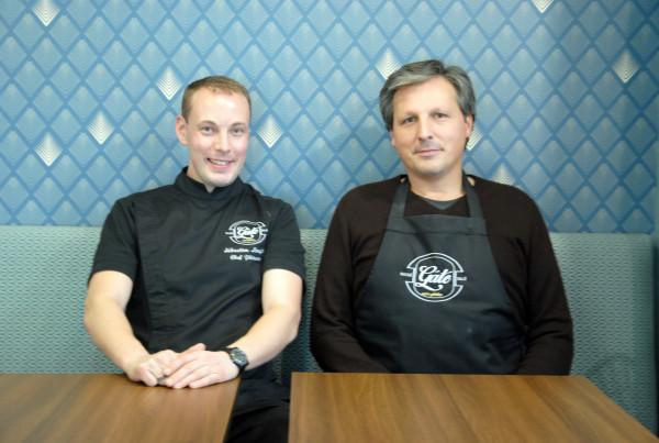 gaté sans gluten: Emmanuel Grenier, founder and Sébastien Lenglet