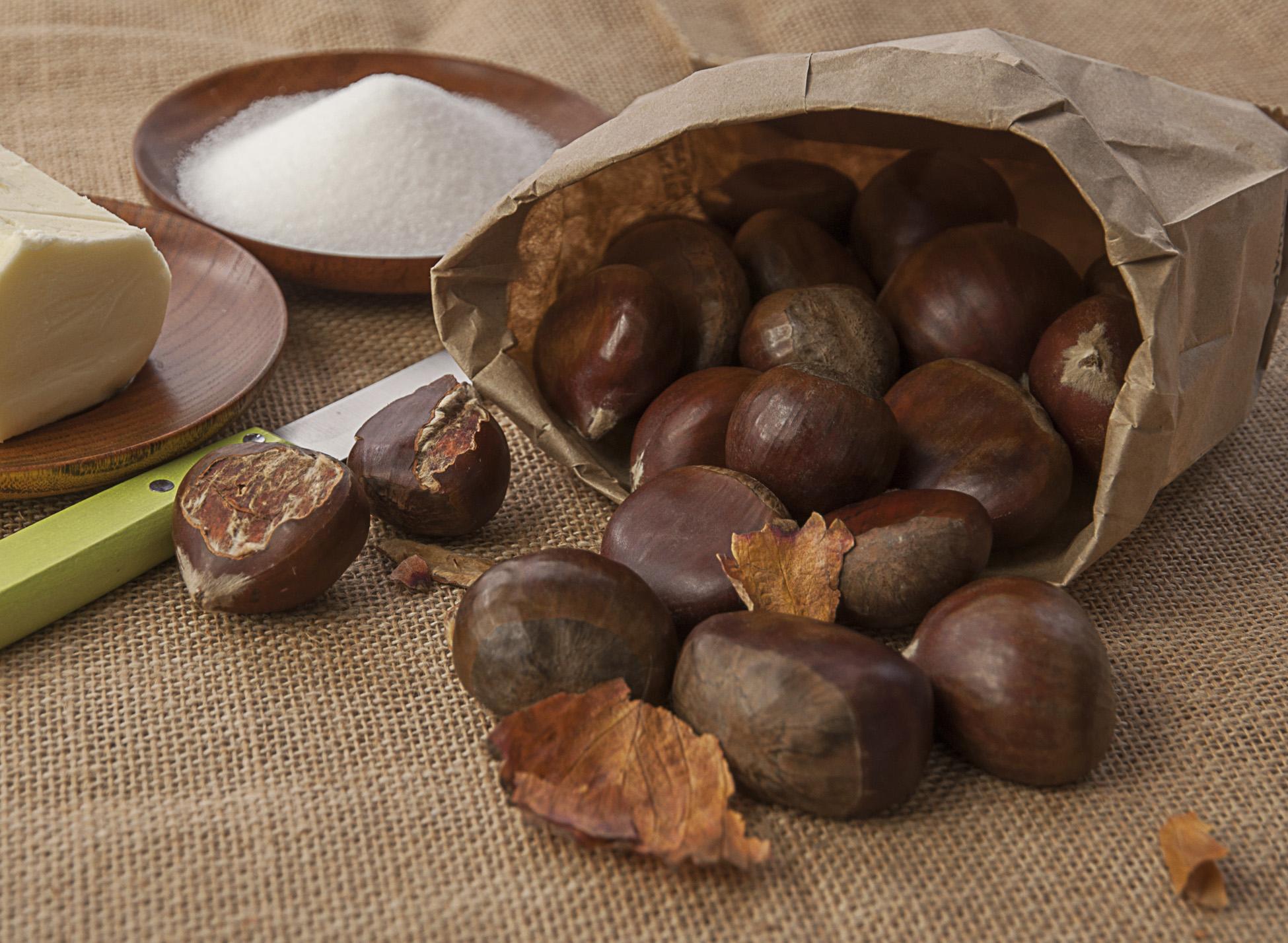 Gluten free chestnut bread