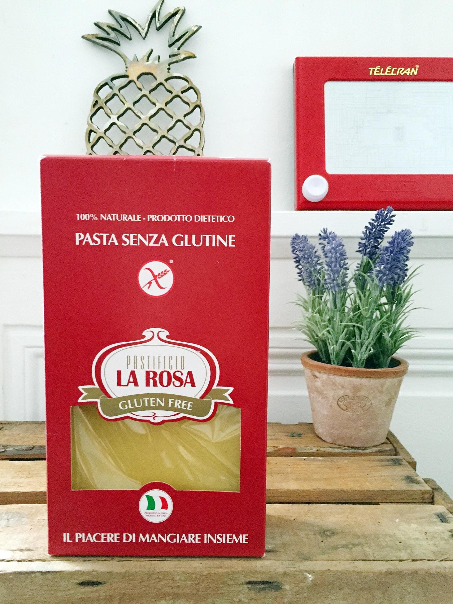 Gluten free lasagna La Rosa