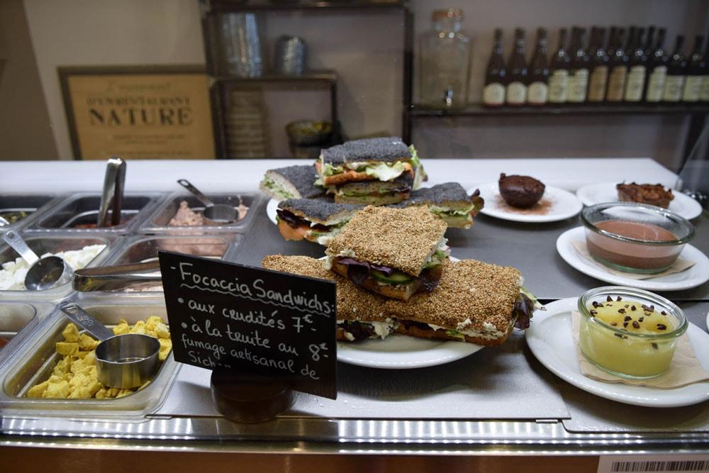 vert midi gluten free sandwiches in paris