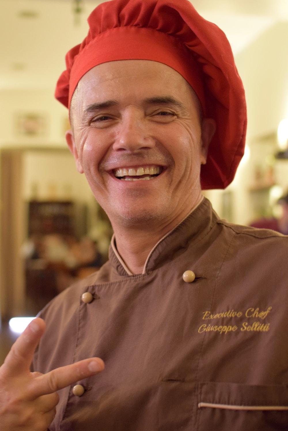 giuseppe selliti gluten free chef at officina37 milan