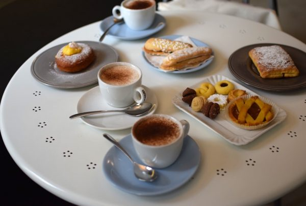 One fantastic gluten free breakfast at Gluti coffee shop in Turin