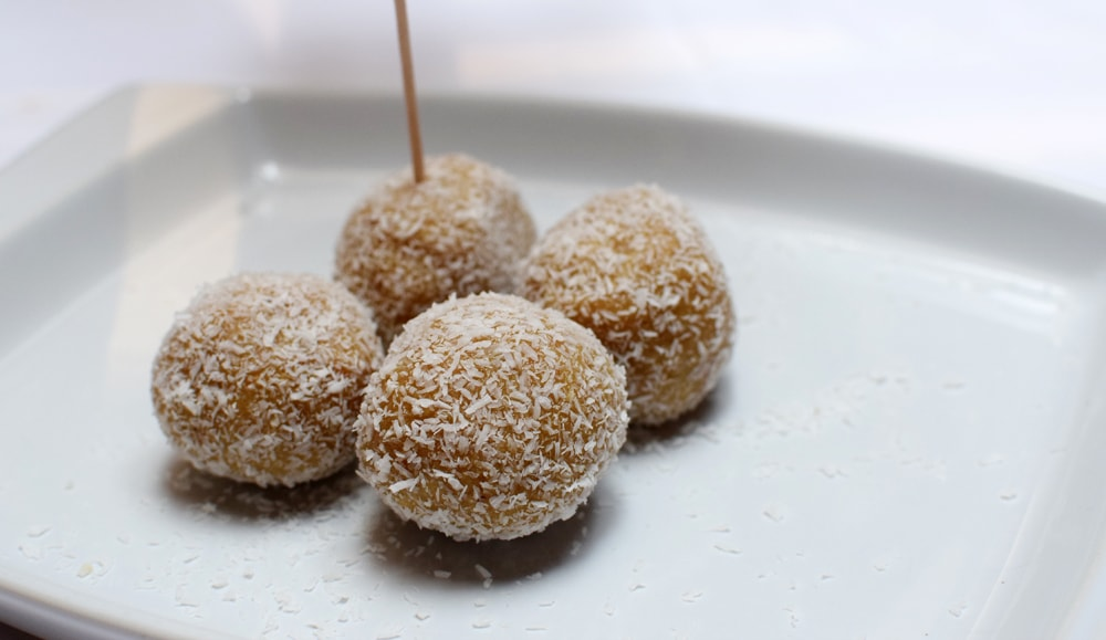 delicious gluten free energy ball at be bop milan