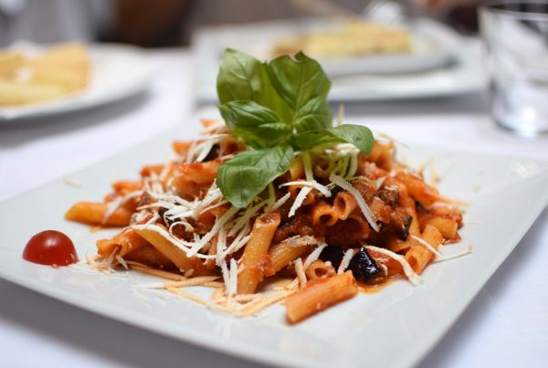 delicious gluten free pasta at be bop milan