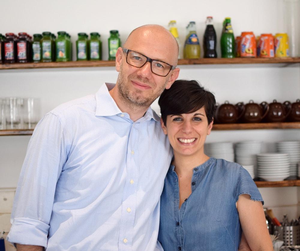 Marcello e Sandra Pastepartout pastry shop Italy