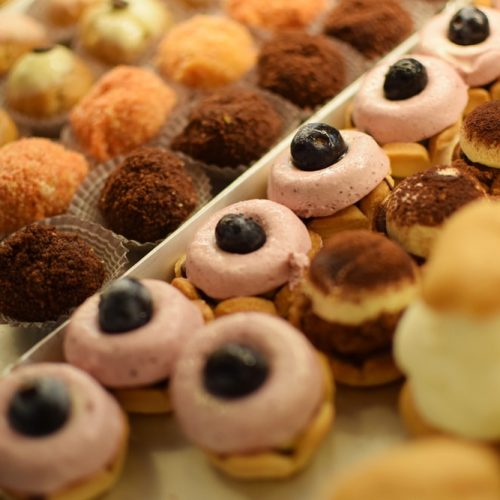 Delicious gluten free pastries at La Madia in Turin