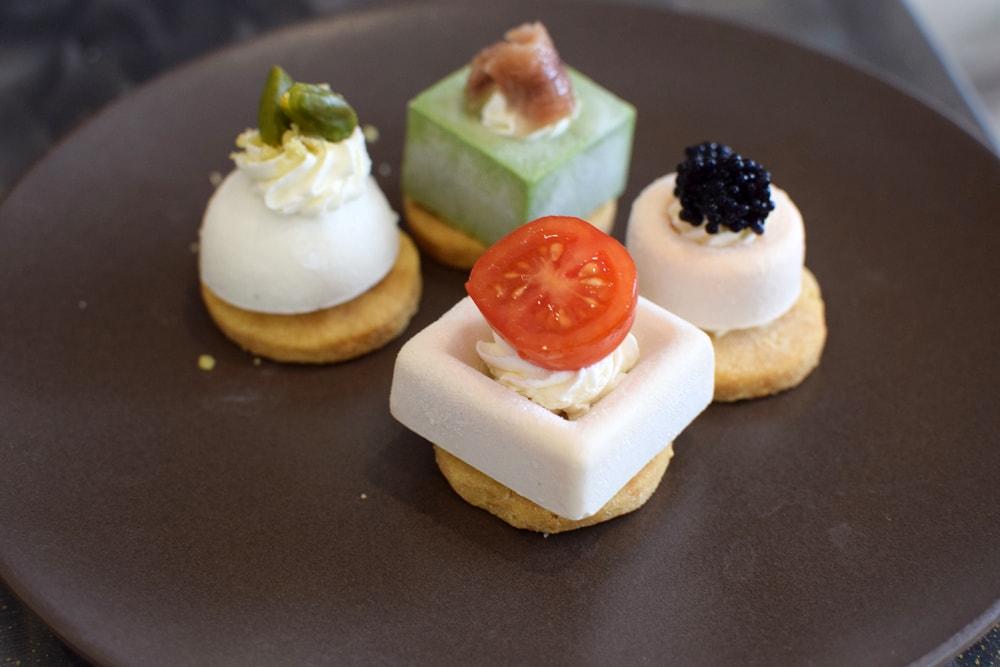 gluten free savoury pastry at Pastepartout Rivoli
