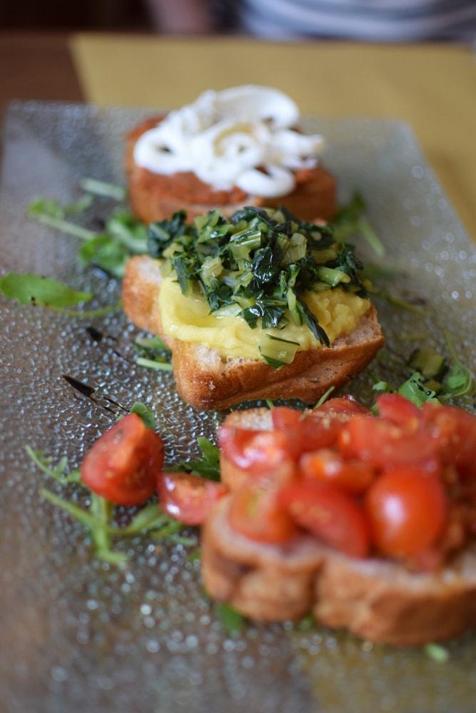 delicious gluten free tapas at puglia bakery milan