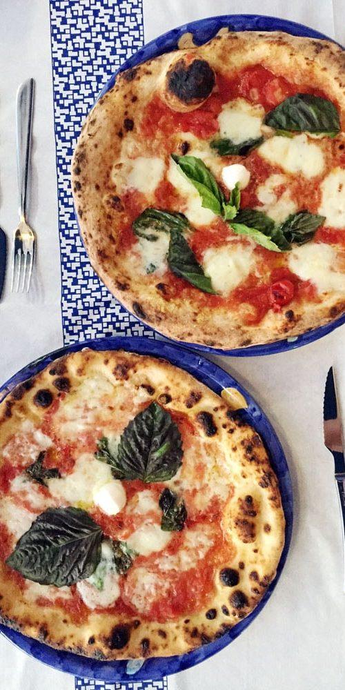 delicious gluten free pizza in sorrento