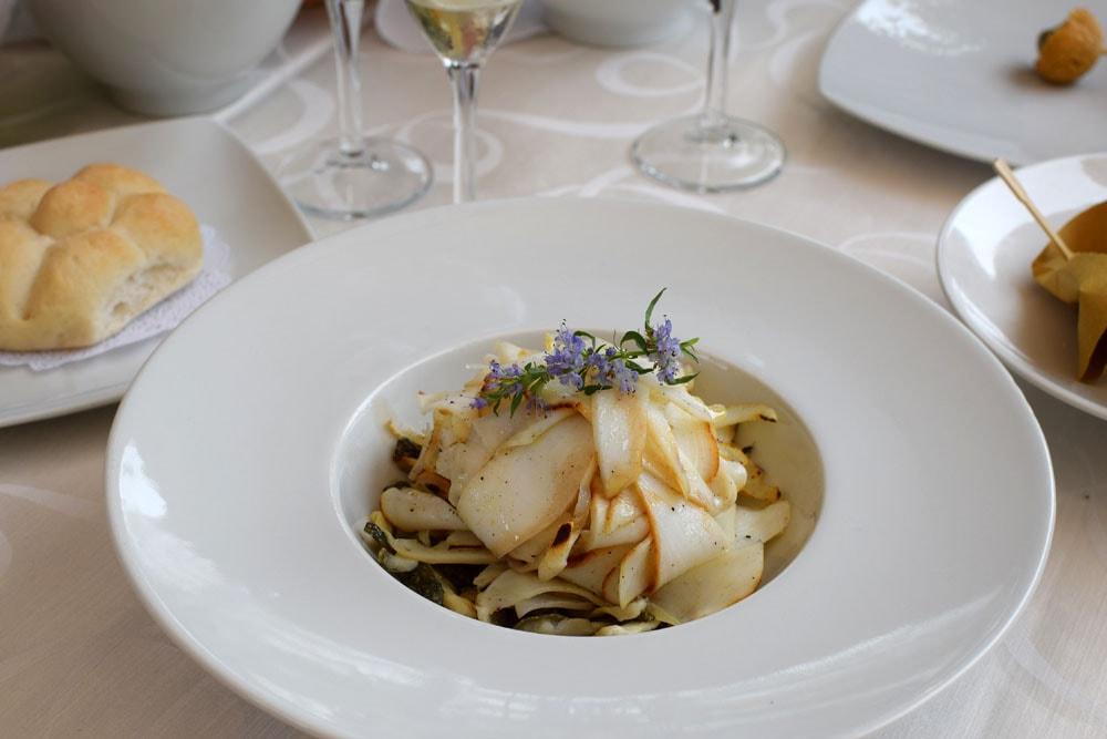 I loved these gluten free zucchini squid at il trifoglio