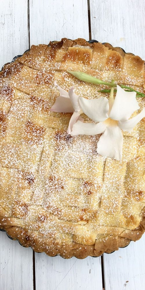 here it comes the recipe to make a delicious gluten free crostata with almonds