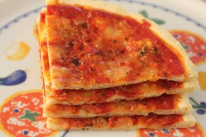 here it comes the recipe to make one yummy gluten free pizza