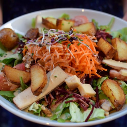 one delicious gluten free salad in paris