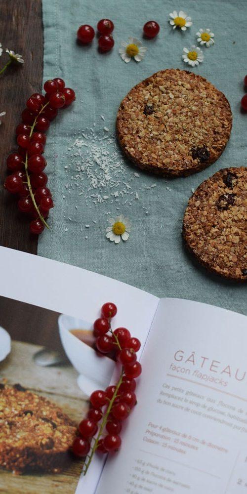terre vivante gluten free flapjack recipe