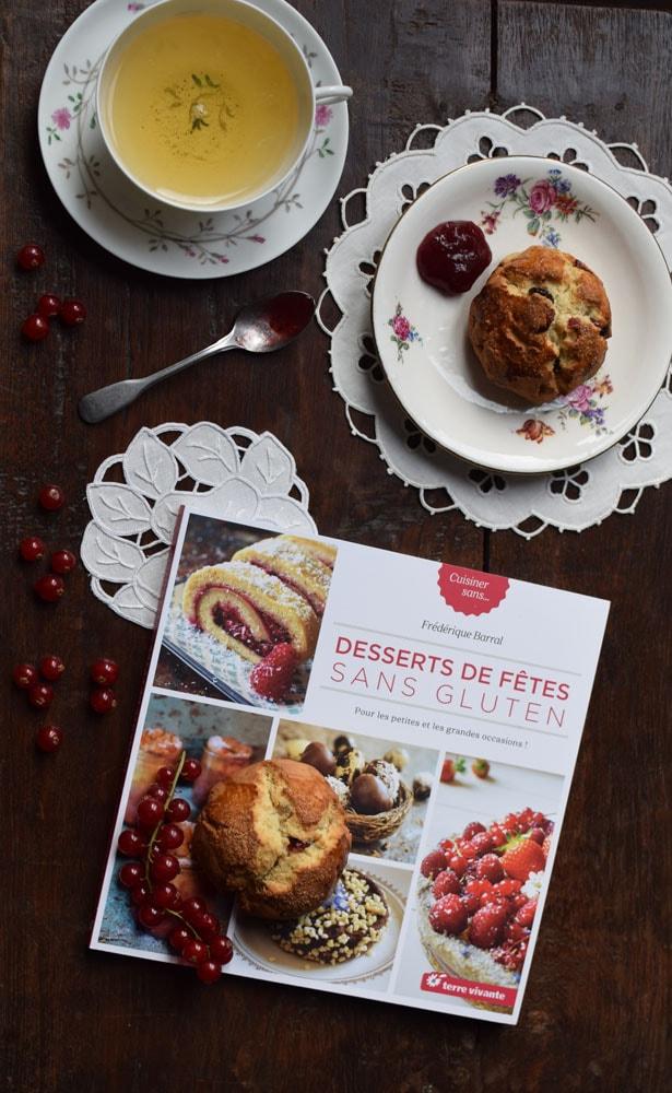 terre vivante recipe for gluten free scones