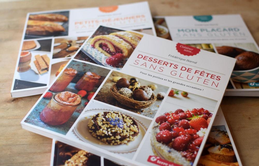 gluten free cook books: Terres Vivantes
