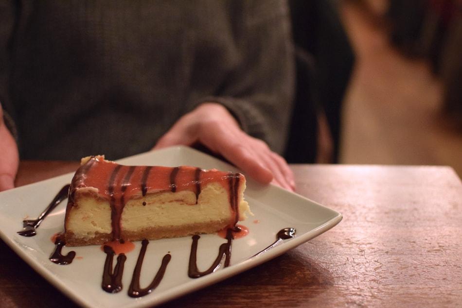 la polenteria gluten free cheesecake