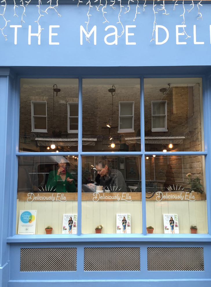 eating gluten free at the mae deli in london