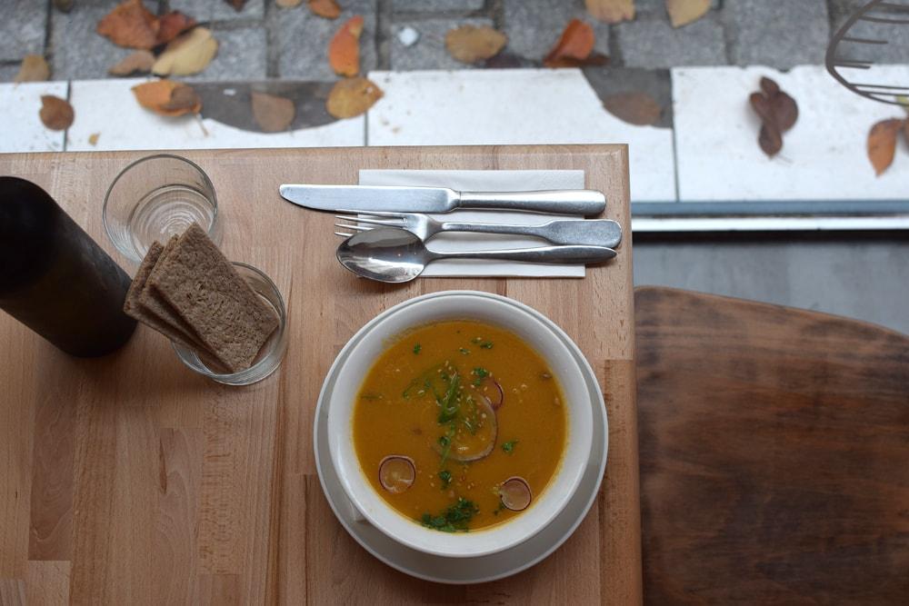 primeur delicious hot soup