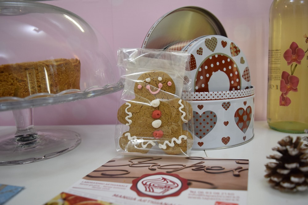la pasticceria gingerbread cookie