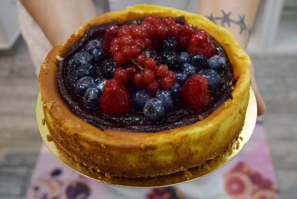 la pasticceria gluten free cheesecake