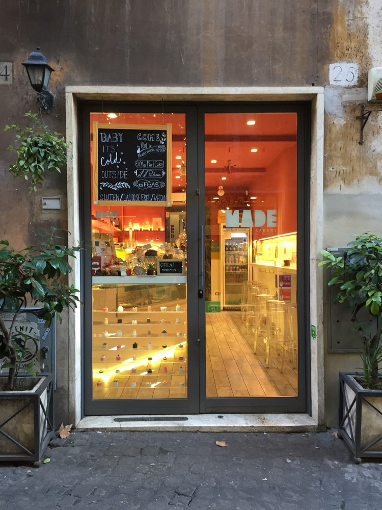 made bakery roma