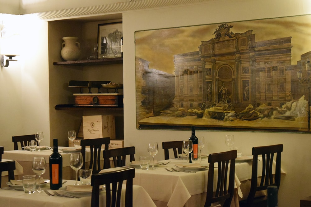 taverna barberini gluten free menu in roma