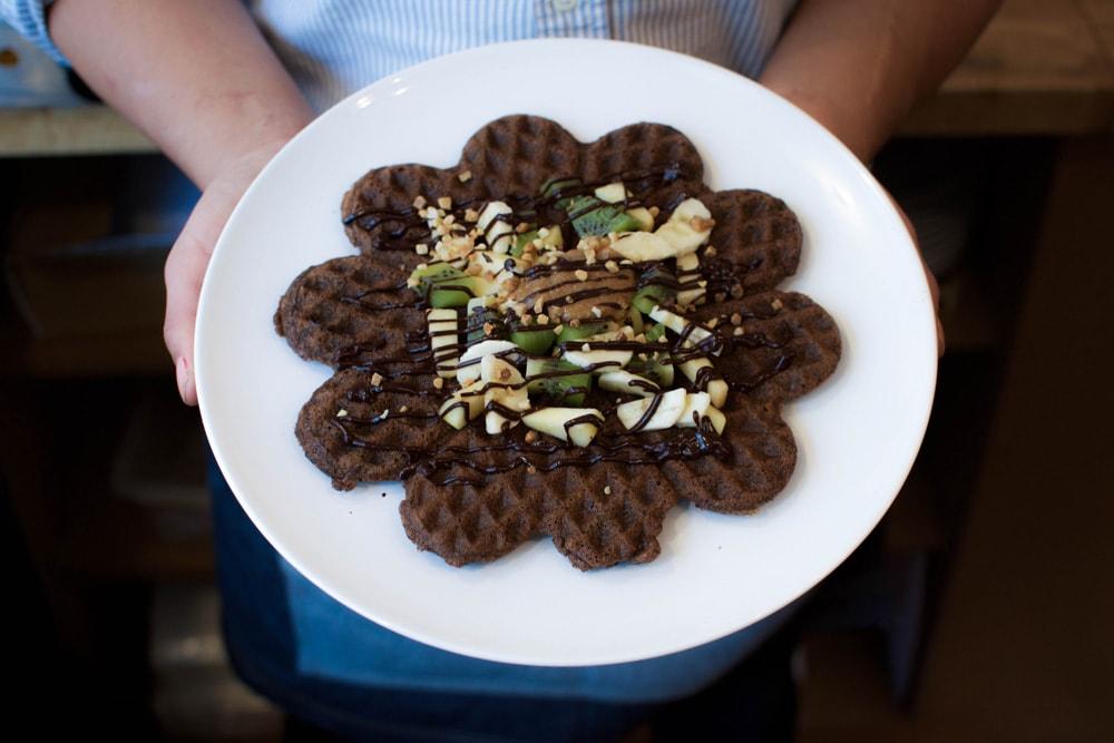 cafe mareva gluten free waffles