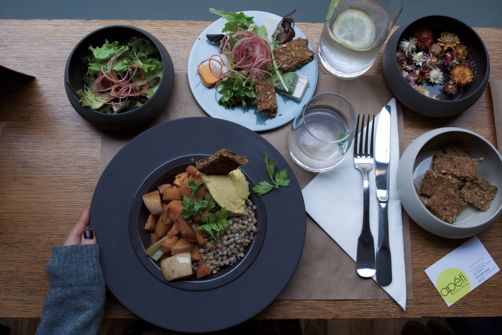 apéti restaurant sans gluten et vegan