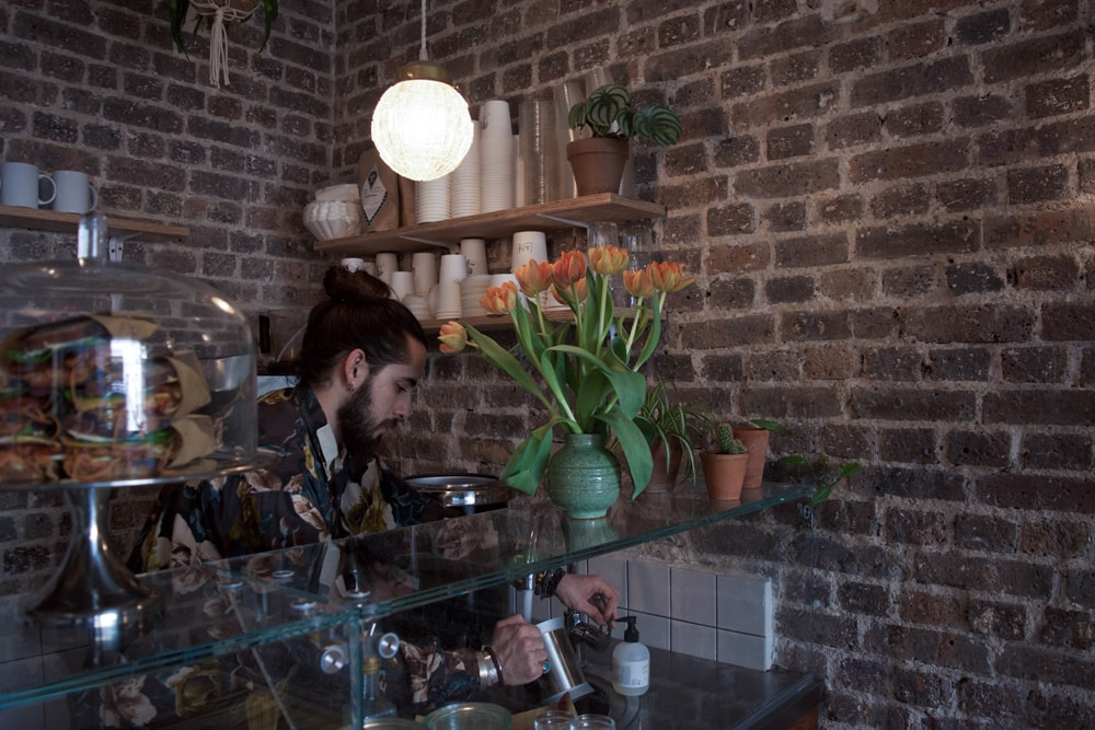 otium coffee shop with gluten free options