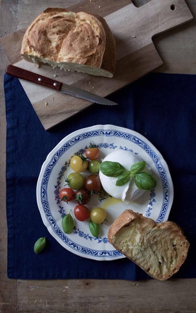 au pain naturel delicious gluten free corn bread I ate at home