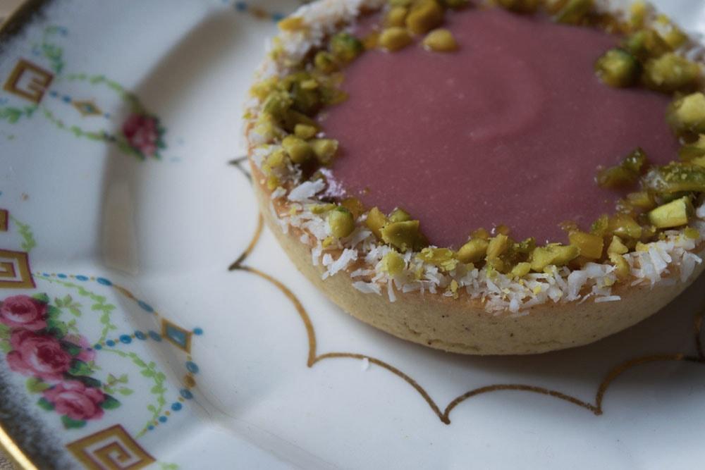 baci di dama gluten free tarts