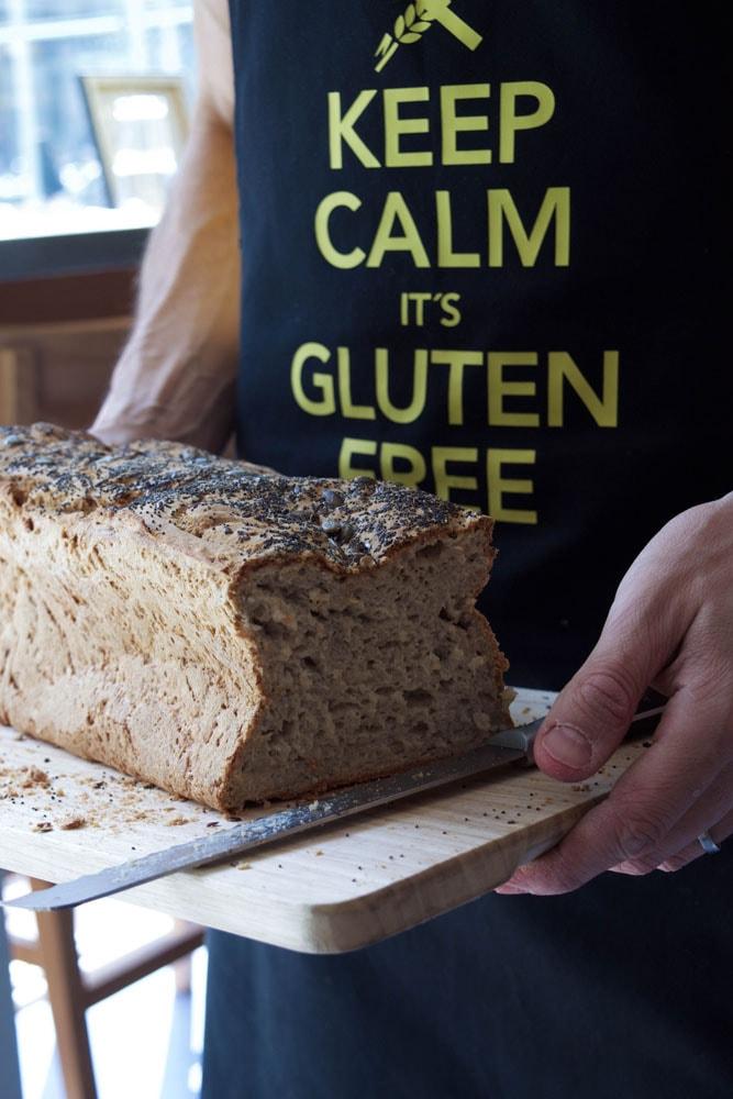 five gluten free bread