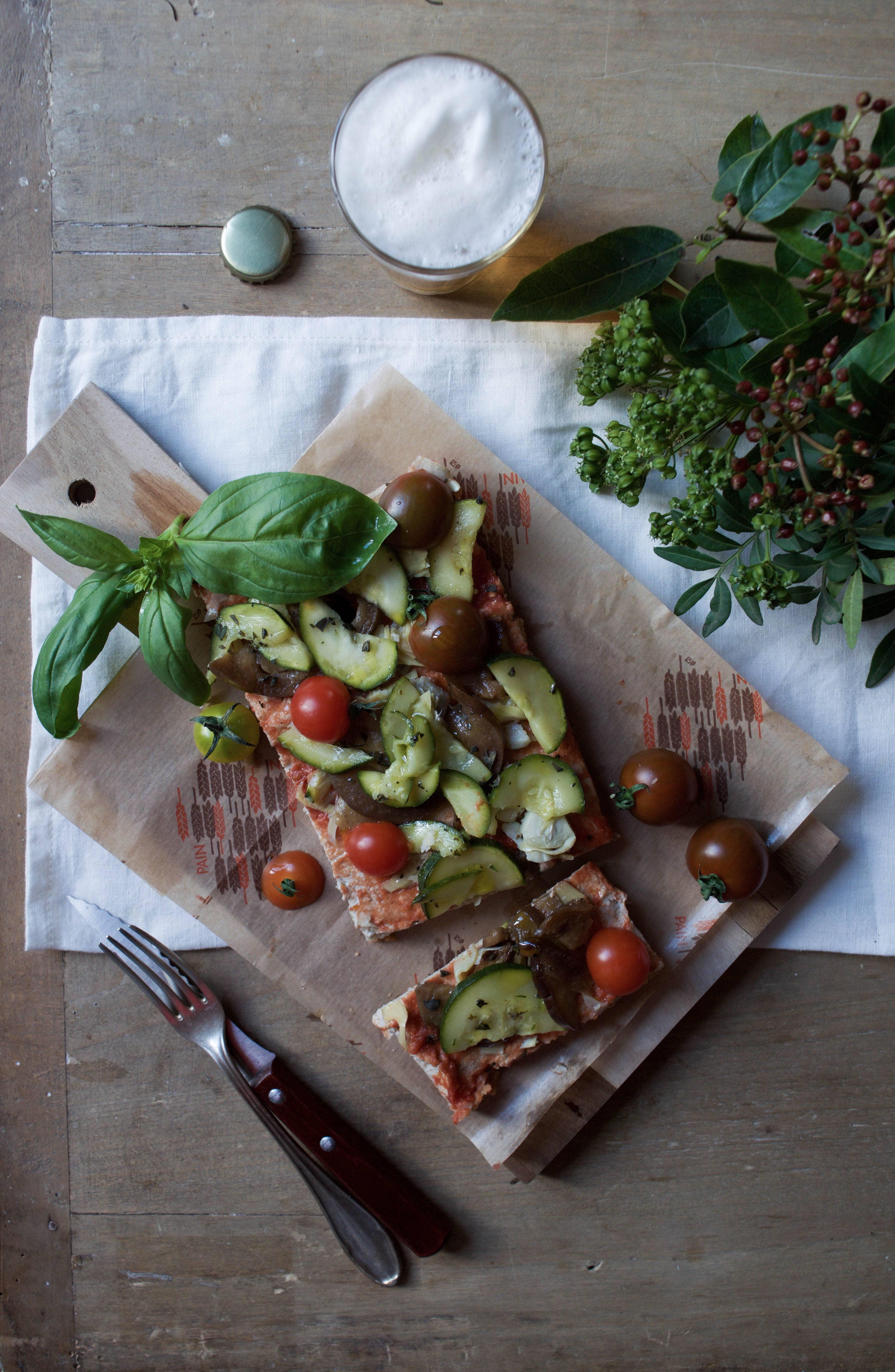 hank vegan and gluten free pizza in paris