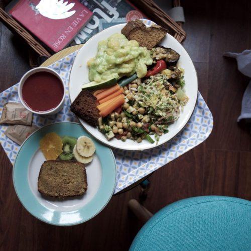 manicaretti gluten free veggie lunch