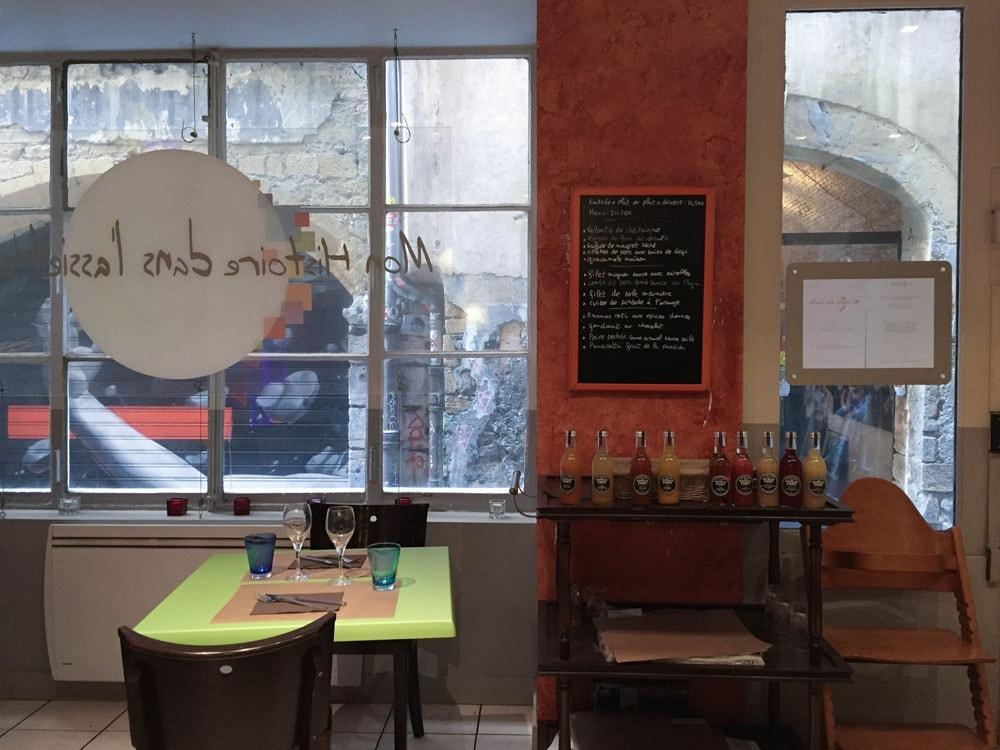 mon histoire dans l'assiette gluten free restaurant
