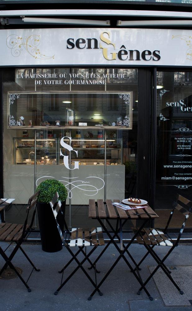 sens gênes gluten free pastry shop lyon