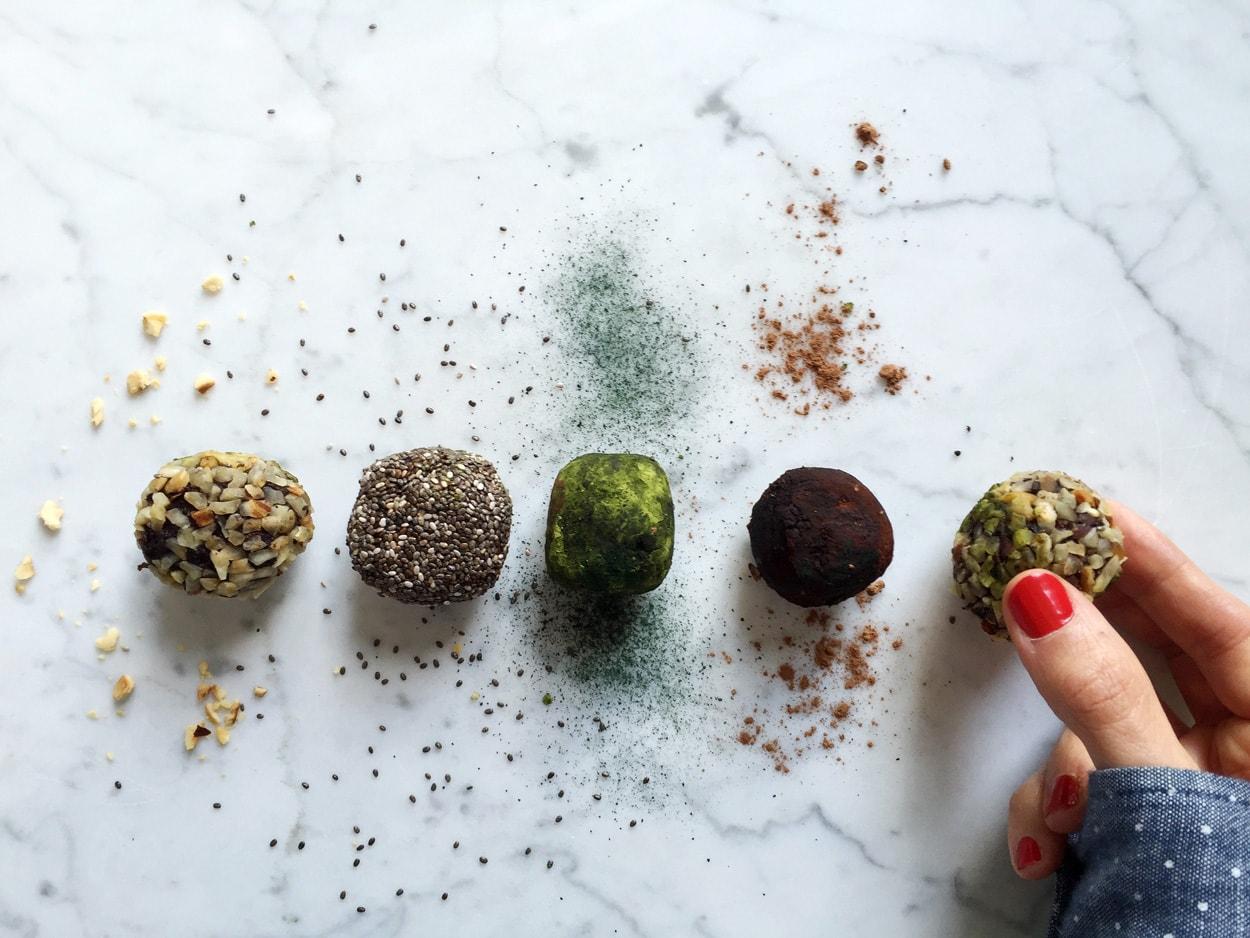 Maisie café energy balls vegan et sans gluten