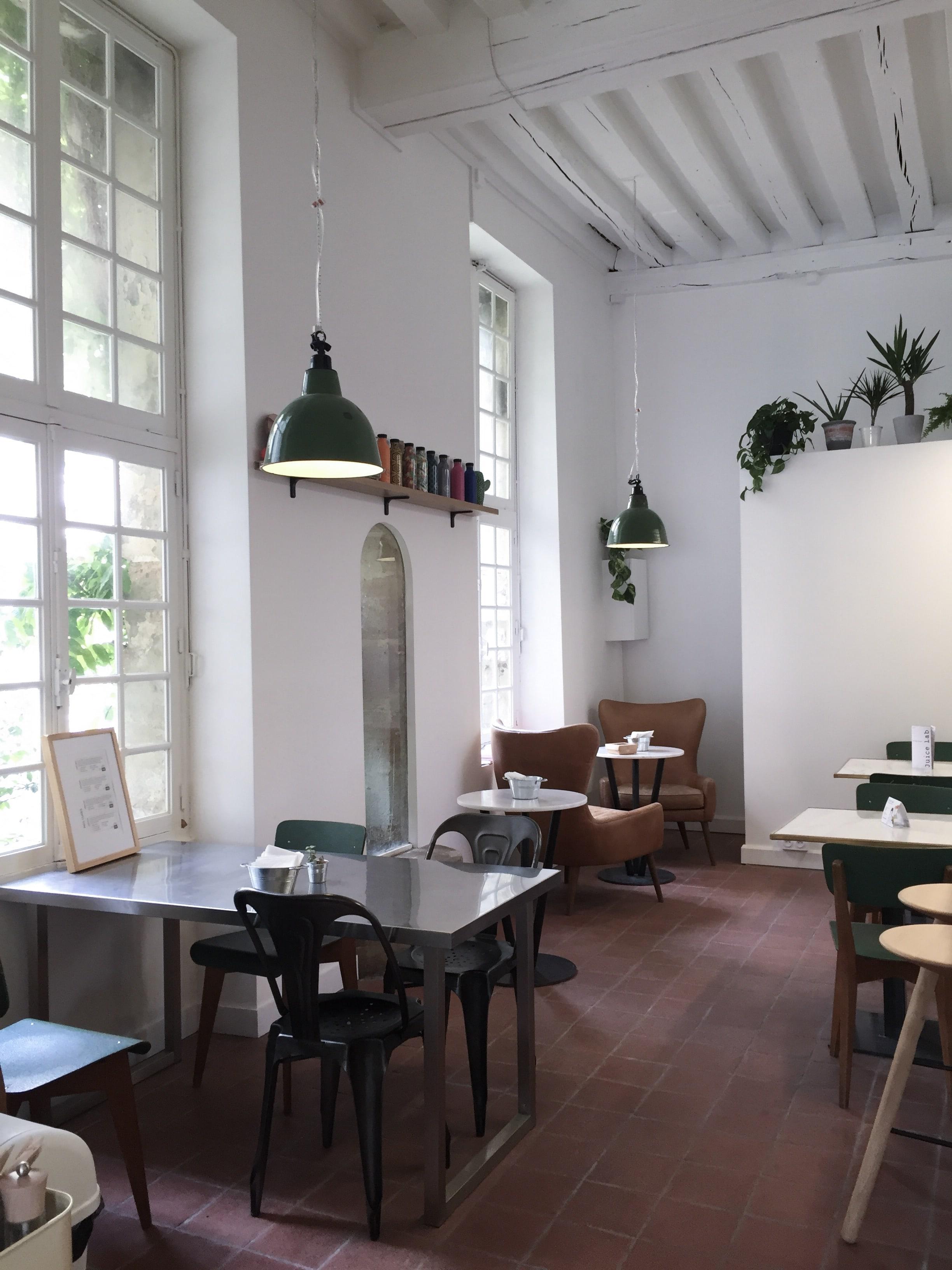 juice bar café in paris