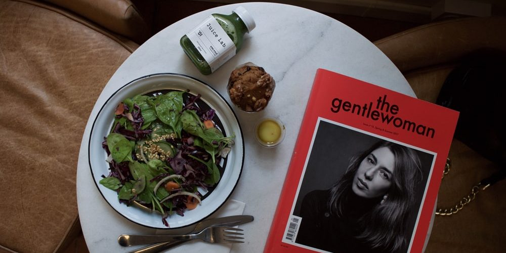 juice lab gluten free lunch in paris
