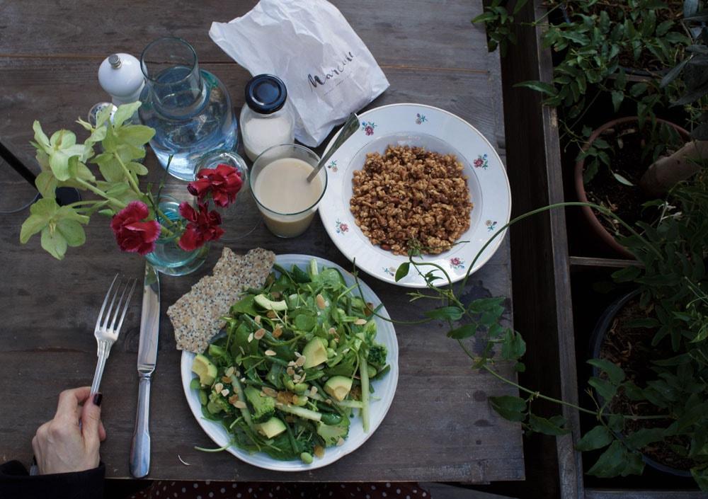 marcelle paris gluten free lunch